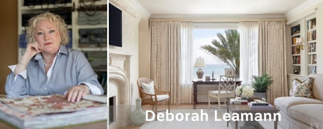 New Jersey Interior Designers Deborah Leamann