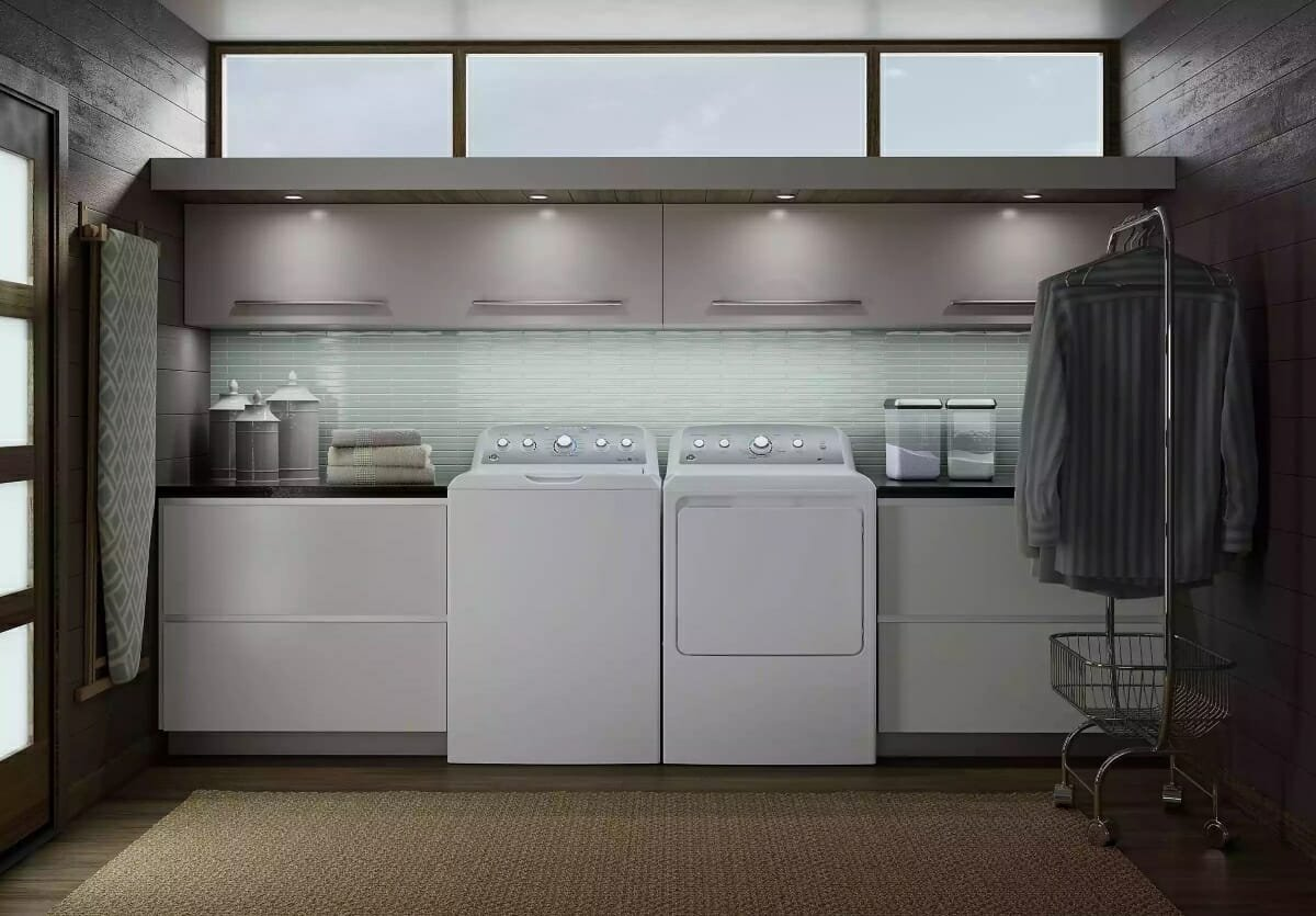 Sleek Laundry Room Design