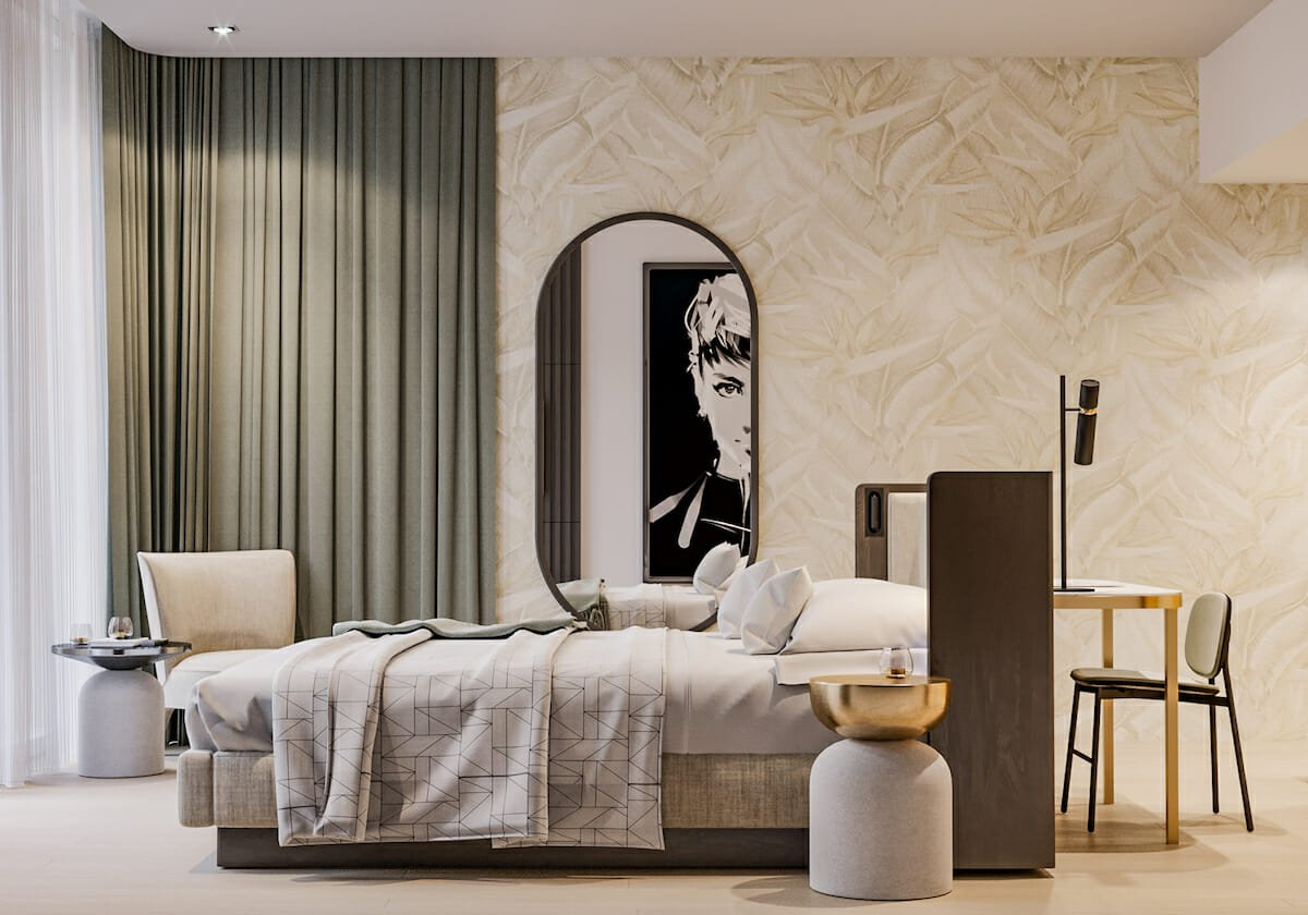 Subtle Bedroom wallpaper by Mladen C.