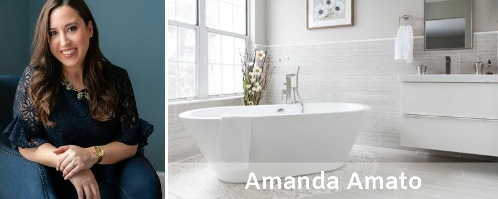 Top New Jersey interior decorator Amanda Amato