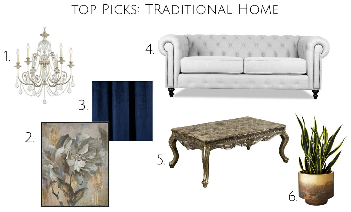 Traditional home style top picks to get the look