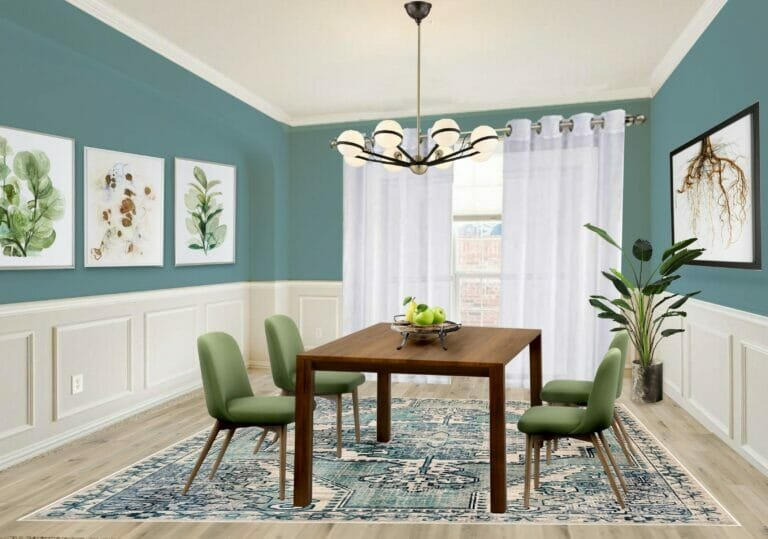 Virtual staging by Northern Lights - interior design gift card ideas