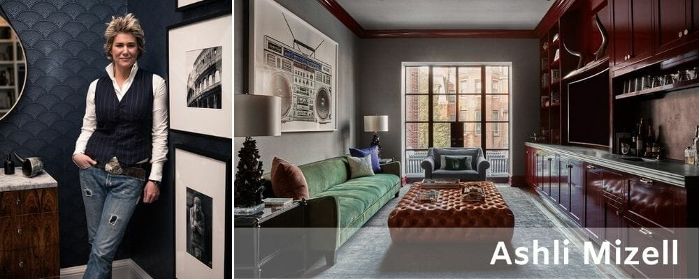 Ashli Mizell's masculine cozy interiors make her one of the best interior designers in Philadelphia