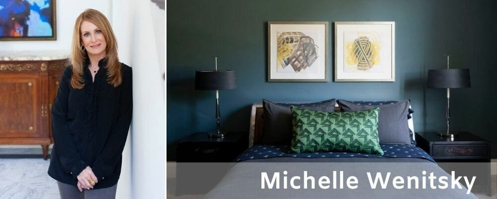 Covetable style by one of the best interior designers in Philadelphia, Michelle Wenitsky