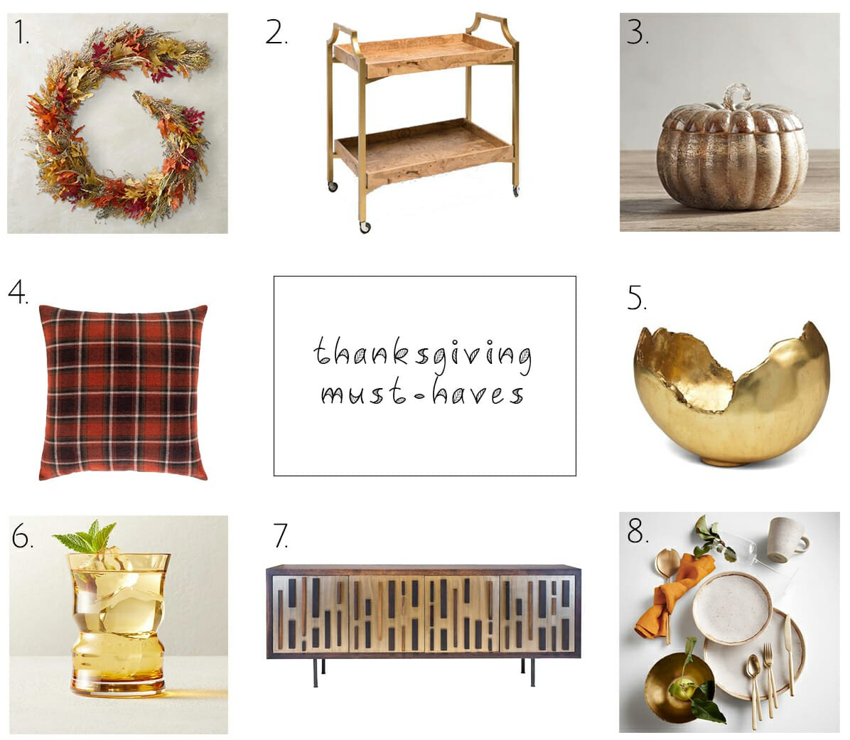 Top Decor to Decorate for Thanksgiving