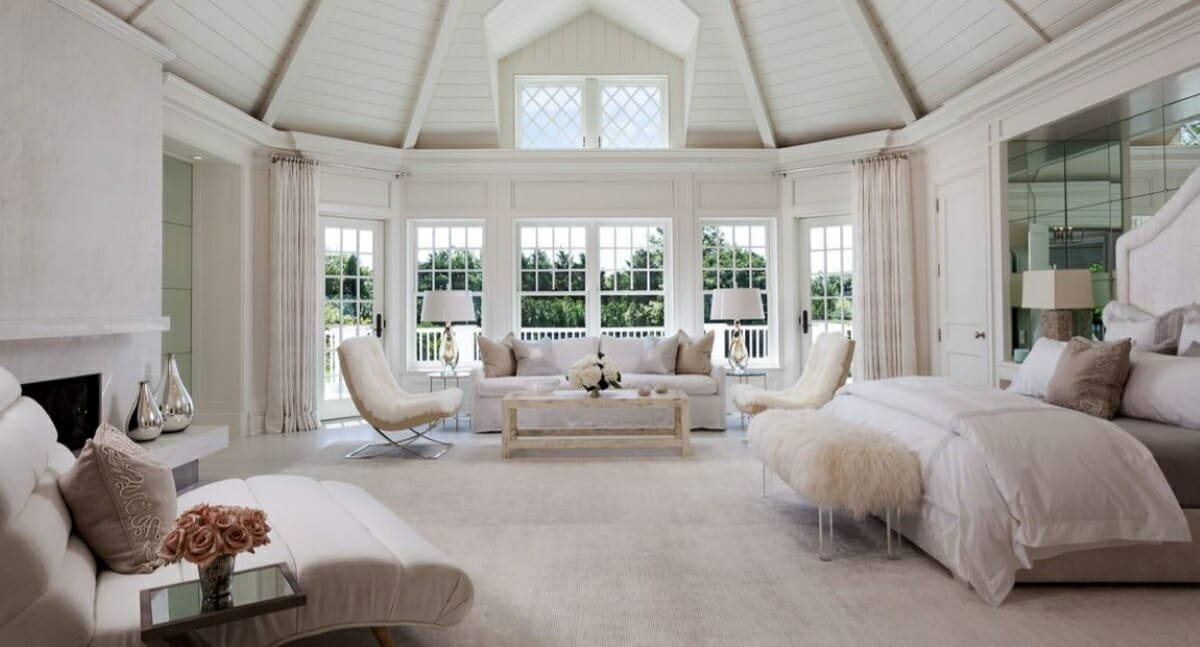 Bedroom by top Jacksonville interior designers and Decorilla designer, Tammy M