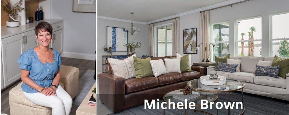 Top interior decorator Jacksonville Fl, Michele Brown