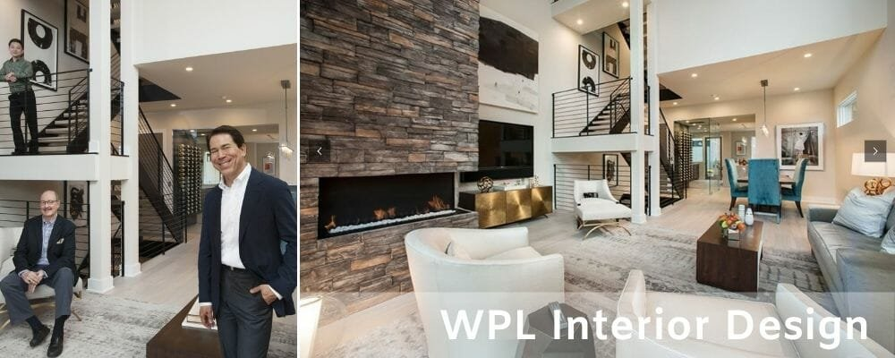 WPL's formal living and dining room by their Philadelphia-based interior designers