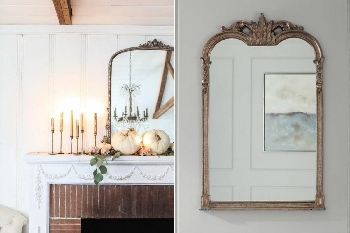 victorian mirrors chic halloween decor ideas
