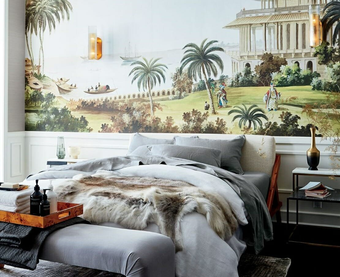 CB2 Cyber Monday bed and rug deals for a warm and inviting bedroom