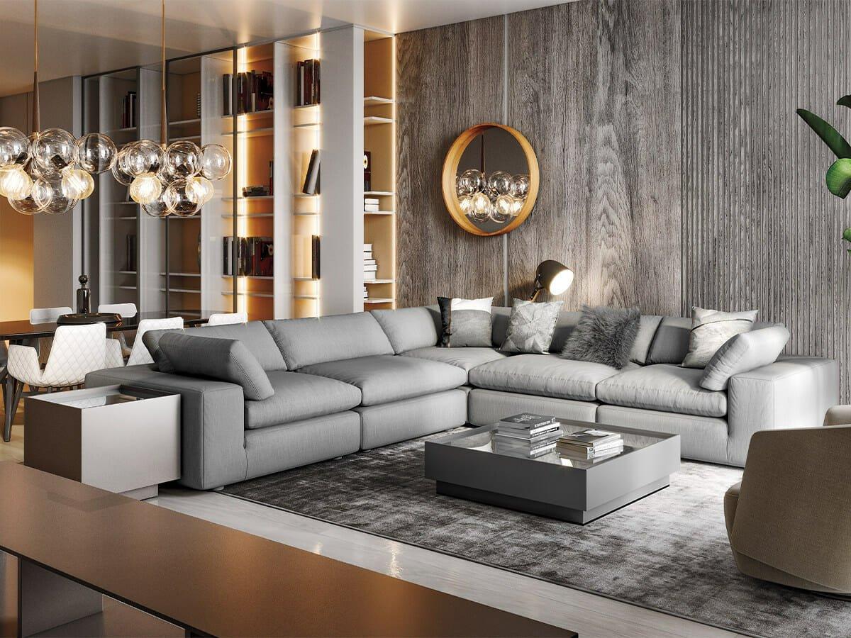Modani Furniture Bloom Gray