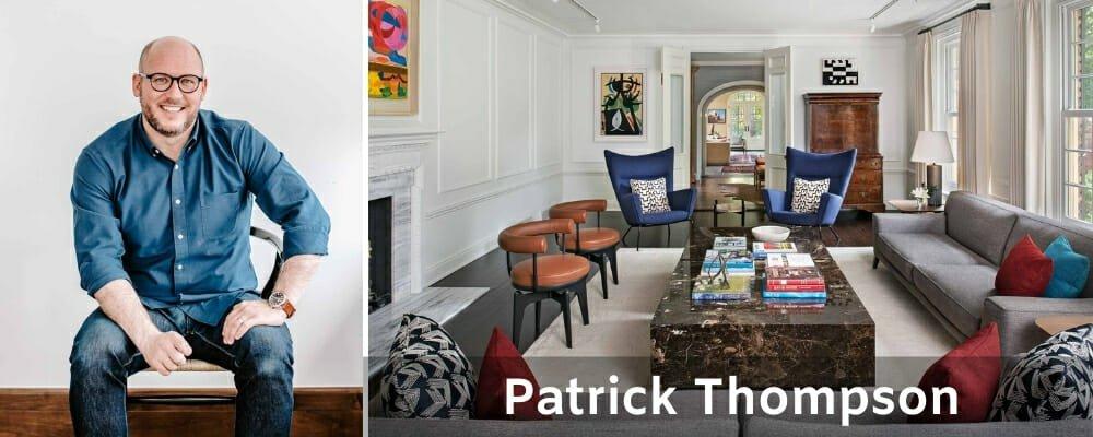 Top Detroit interior designers Patrick Thompson