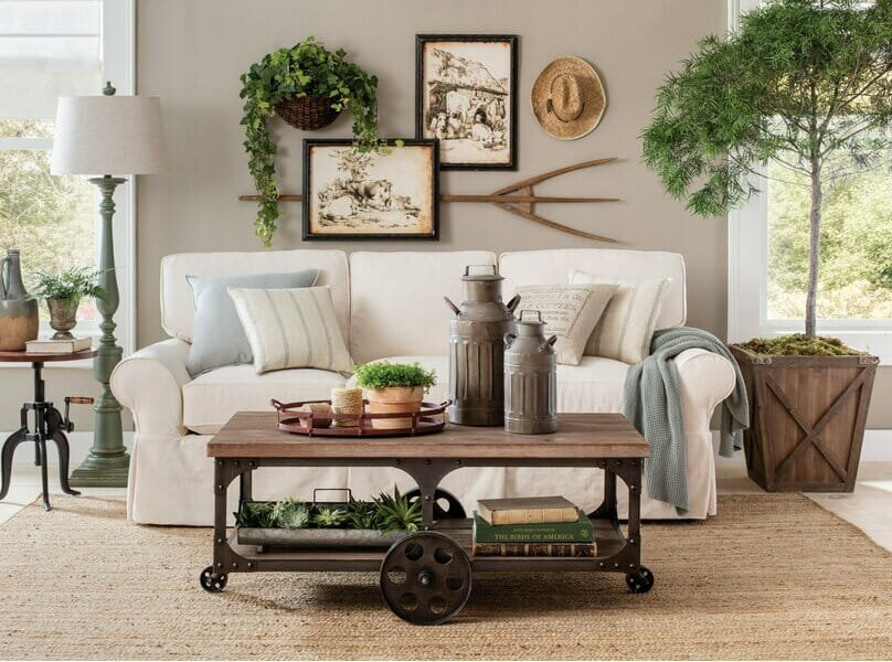 Wayfair Cyber Monday couch sales for farmhouse living rooms