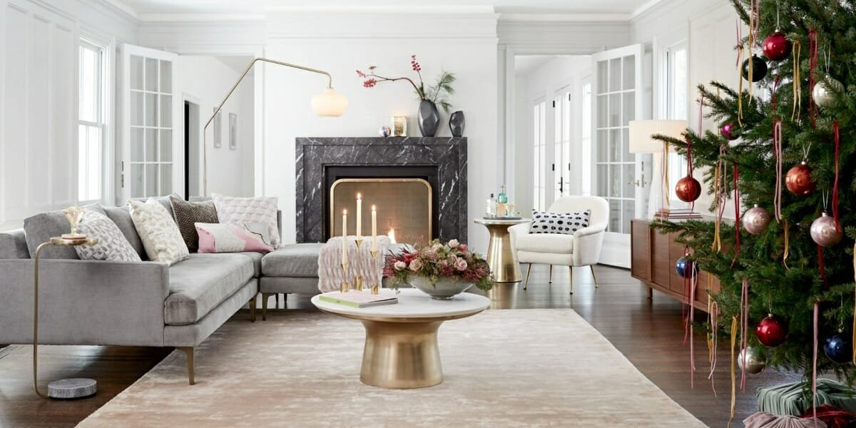 West Elm living room inspiration for black Friday furniture deals