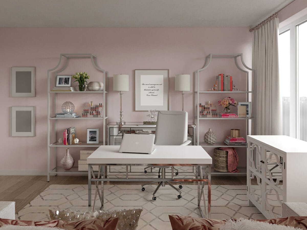 Home Office Background Ideas To Always Be Zoom Ready Decorilla