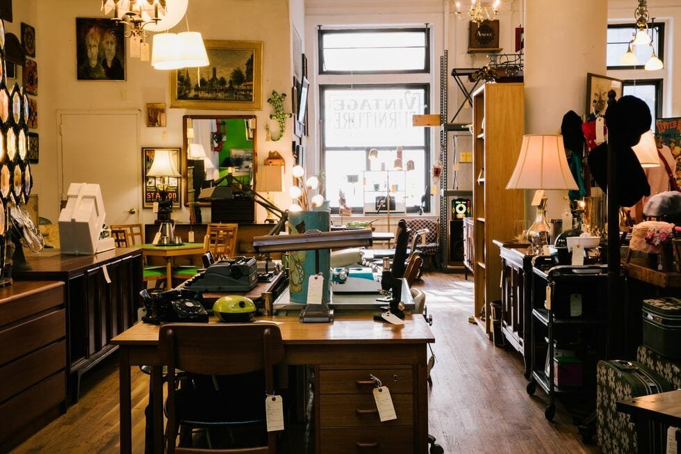 vitange furniture store NYC - furnish green