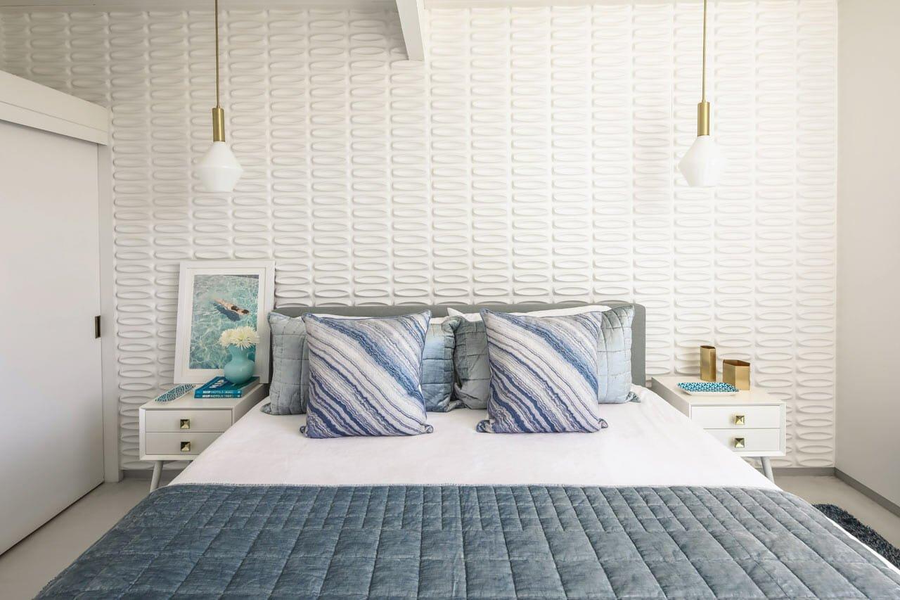 2021 interior design trend - Textured walls