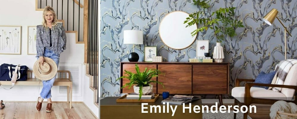 Famous Interior Designers Emily Henderson