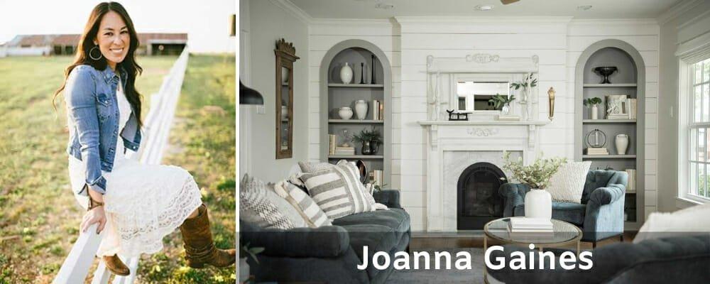 Famous Interior Designers Joanna Gaines