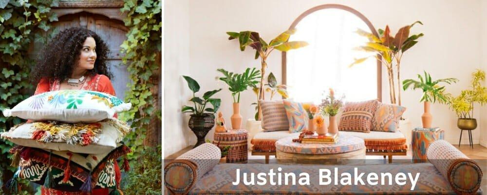 Famous Interior Designers Justina Blakeney