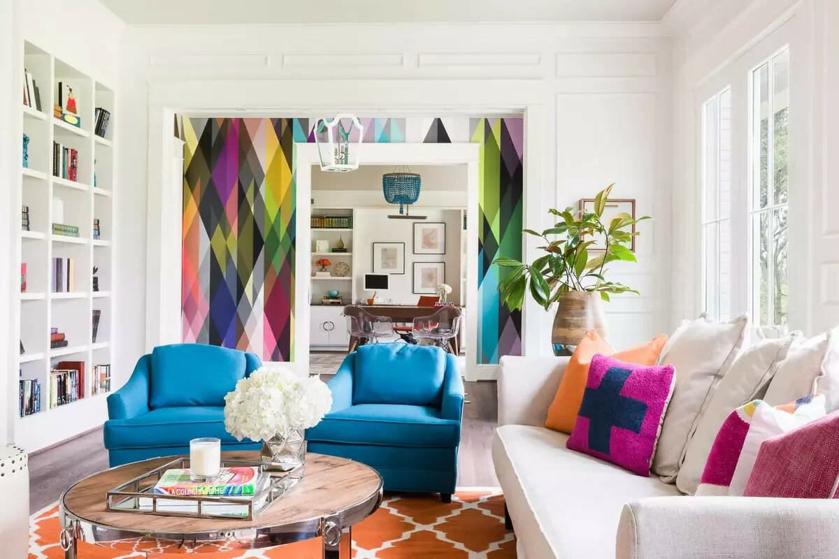 Interior design trends 2021 abstract
