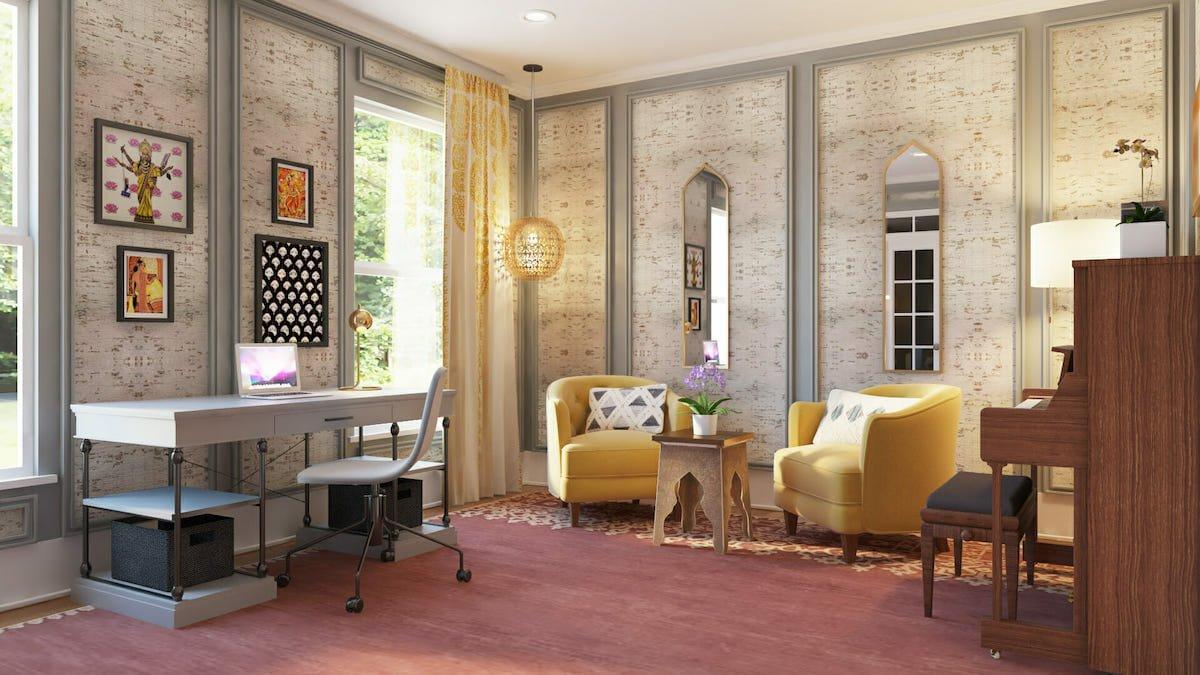 International influence as a 2021 interior design trend