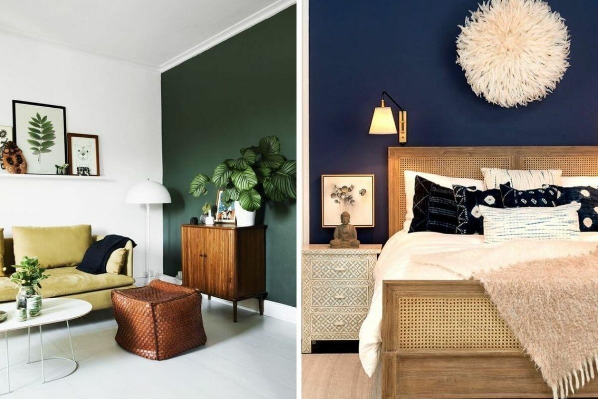 Bold wall colors interior design trend (1)