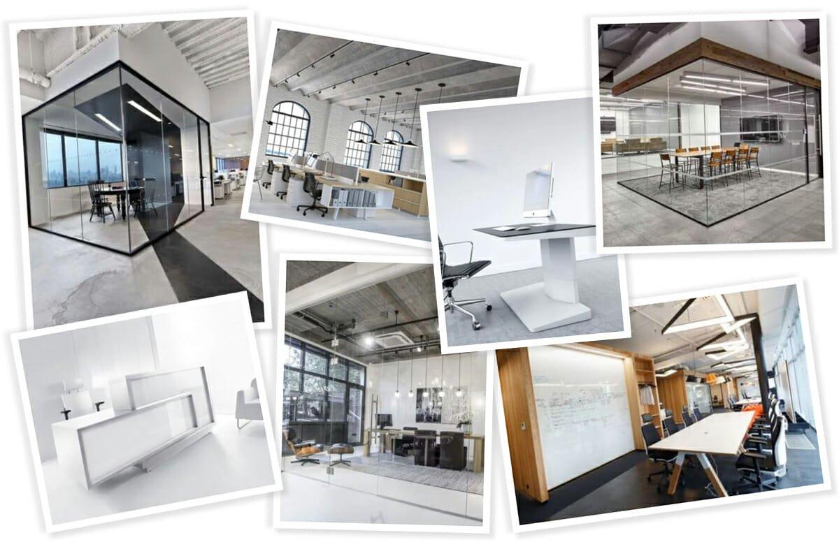 Contemporary and Scandinavian office interior design inspiration