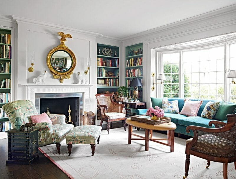Grandmillennial interior design trend 2021