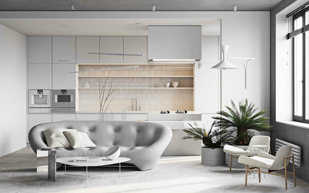Pantone color of the year 2021 on accent furniture