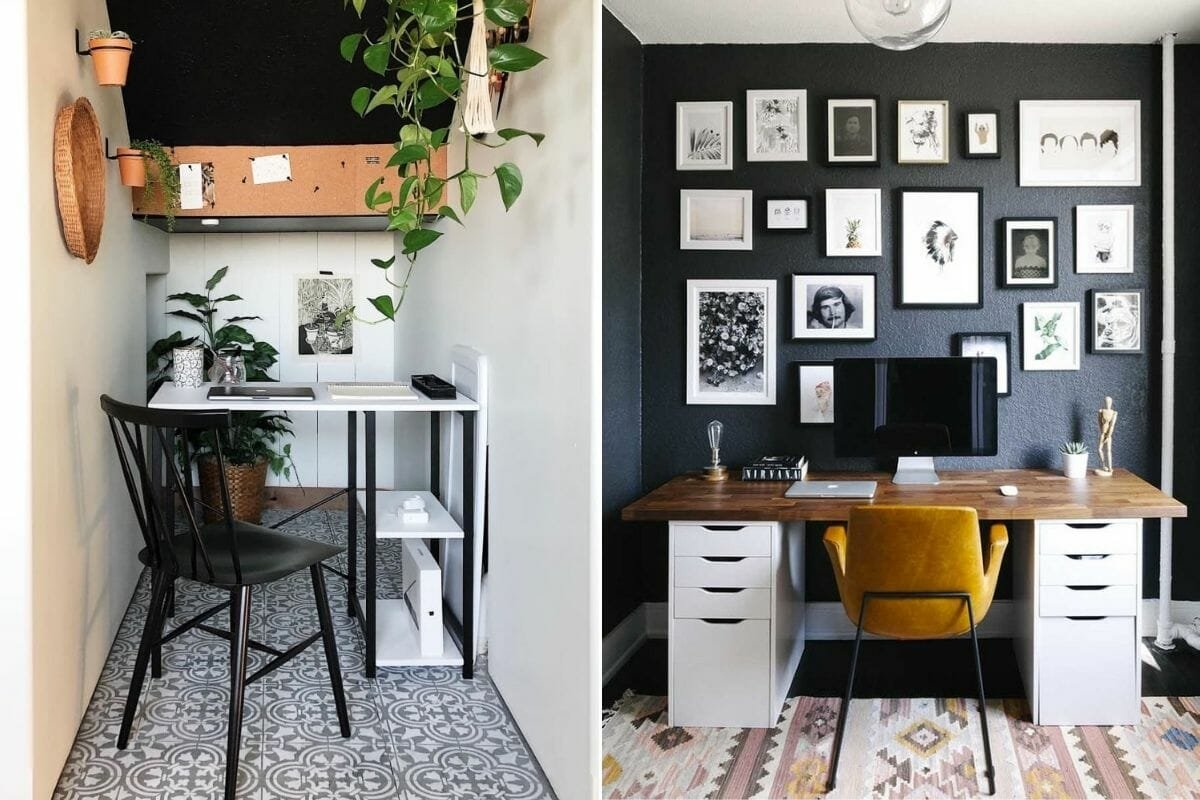Small and productive home office layouts as creative employee incentives