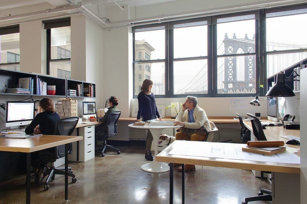 Work style in an open plan space - quiz ED