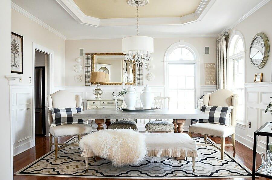 winter home decor living room