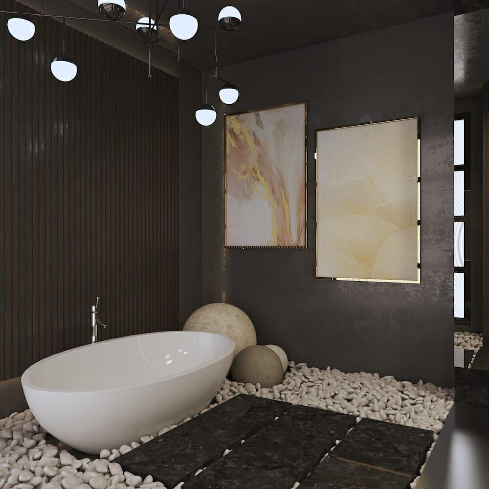 Contemporary zen bathroom trends 2021