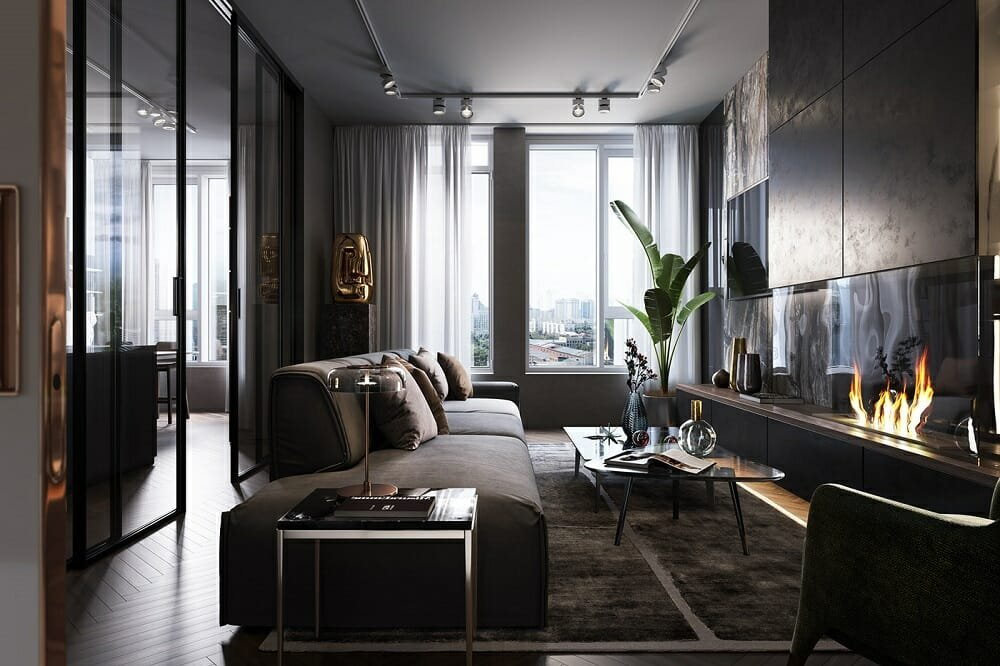 How to make a small living room look bigger - Rehan A.