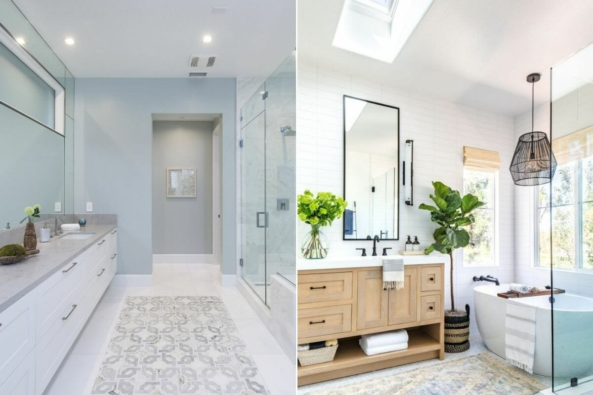 Neutral bathroom trends