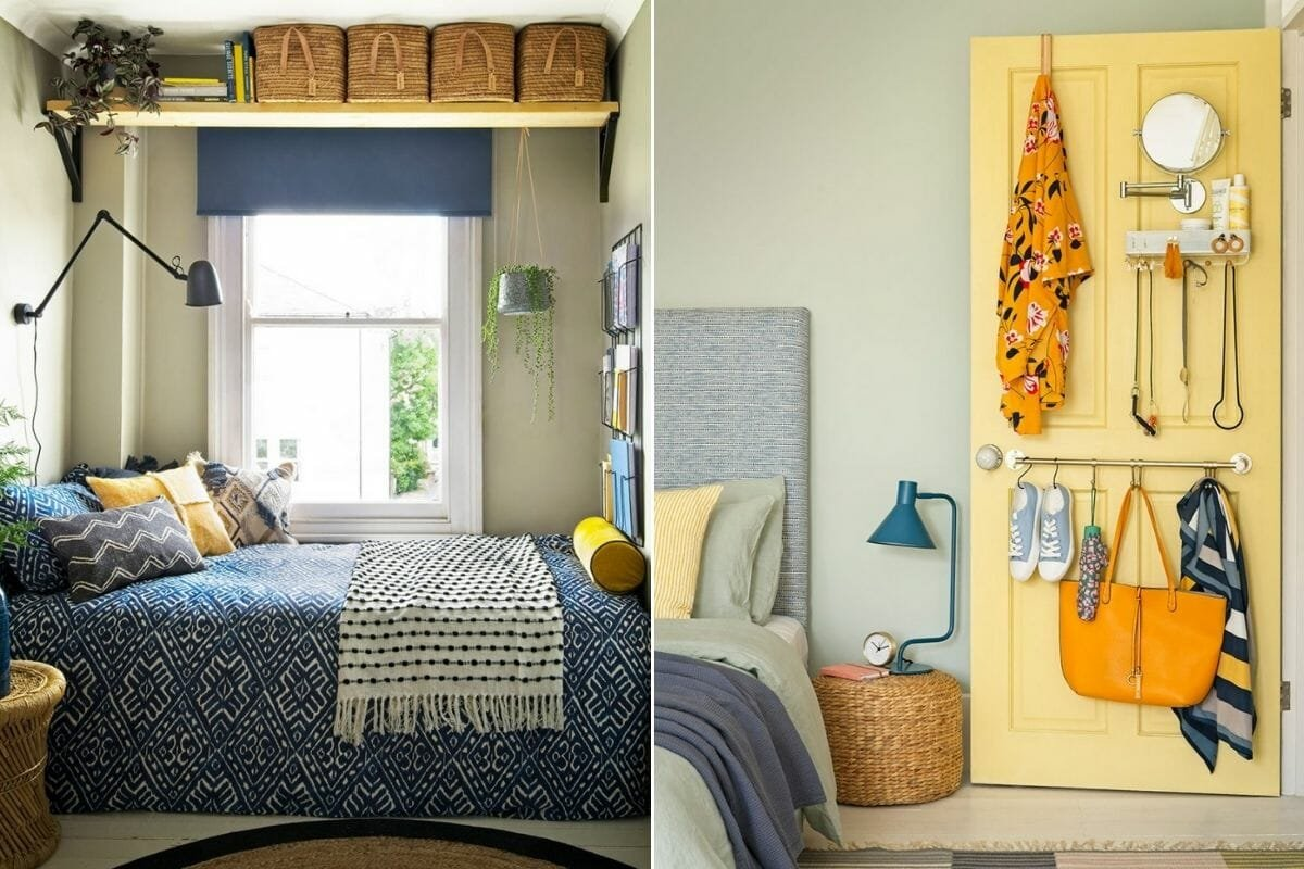 Storage solutions for an interior - how to make a small room look bigger