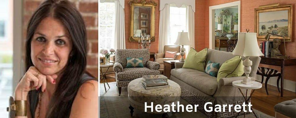 Top Raleigh interior designers Heather Garrett