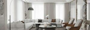 contemporary home interior design living room