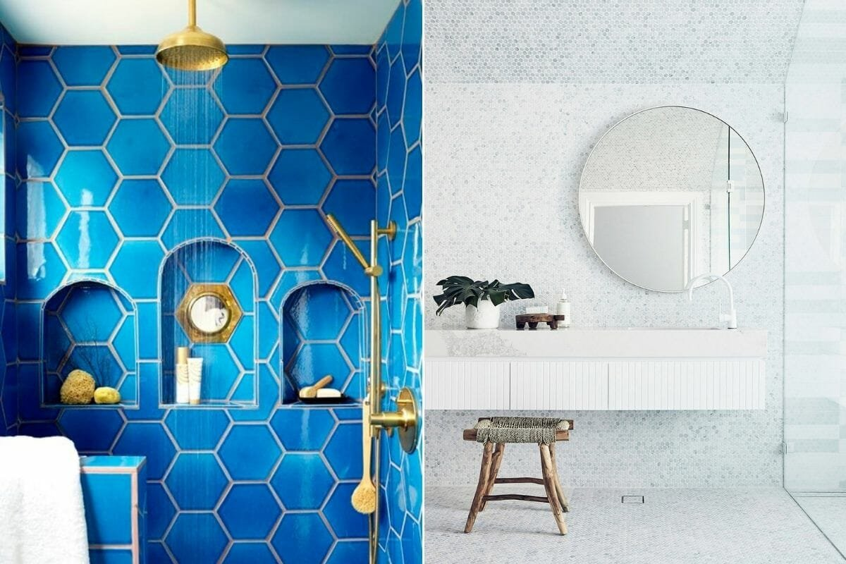 grout color for bathroom tiles