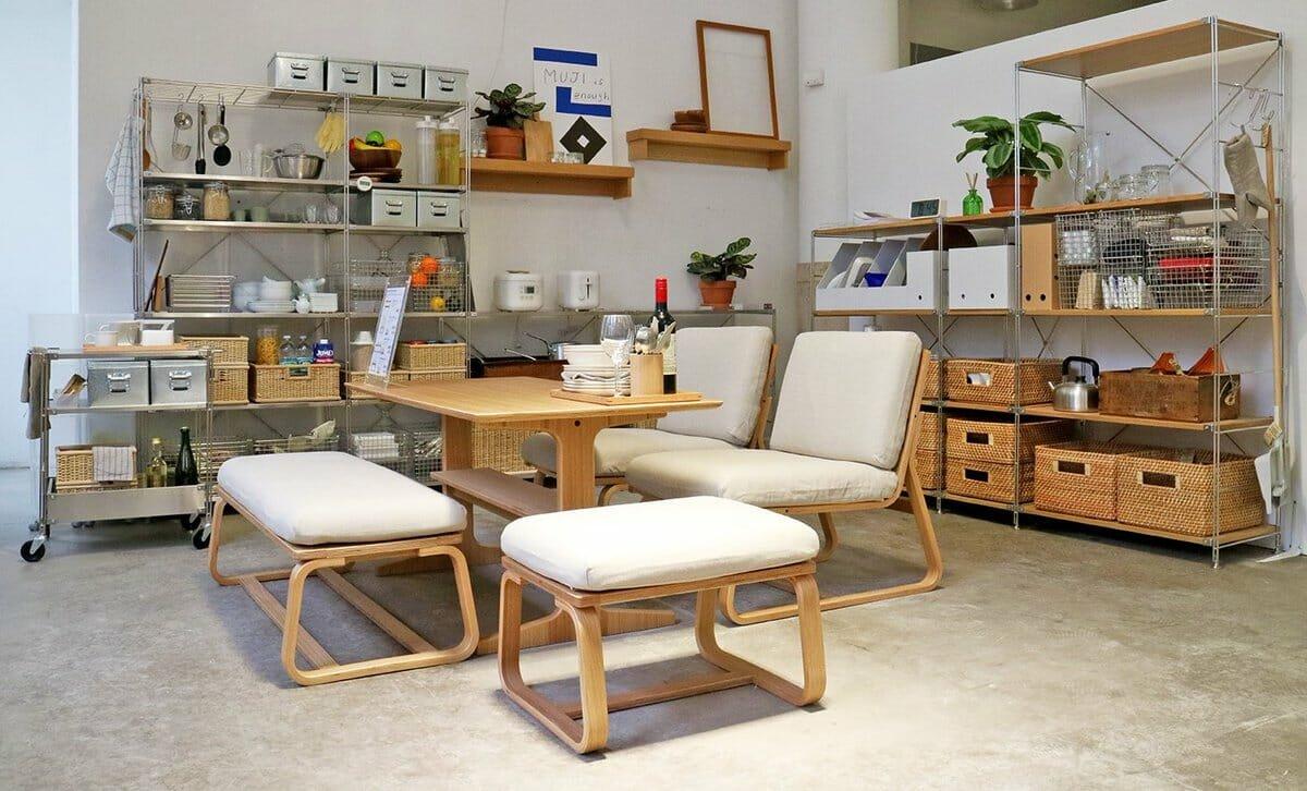 Best NYC furniture stores - Muji