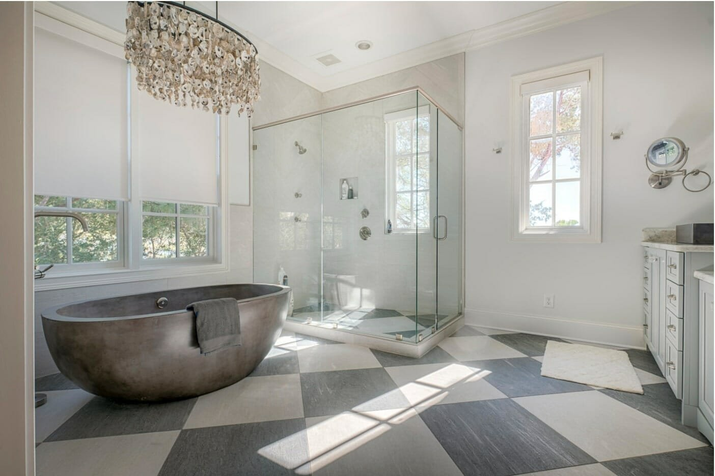 Contemporary bathroom by one of the best savannah interior designers