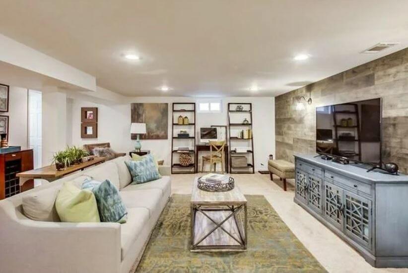 Family-centered living room by Kimberly Johnson Columbus interior design