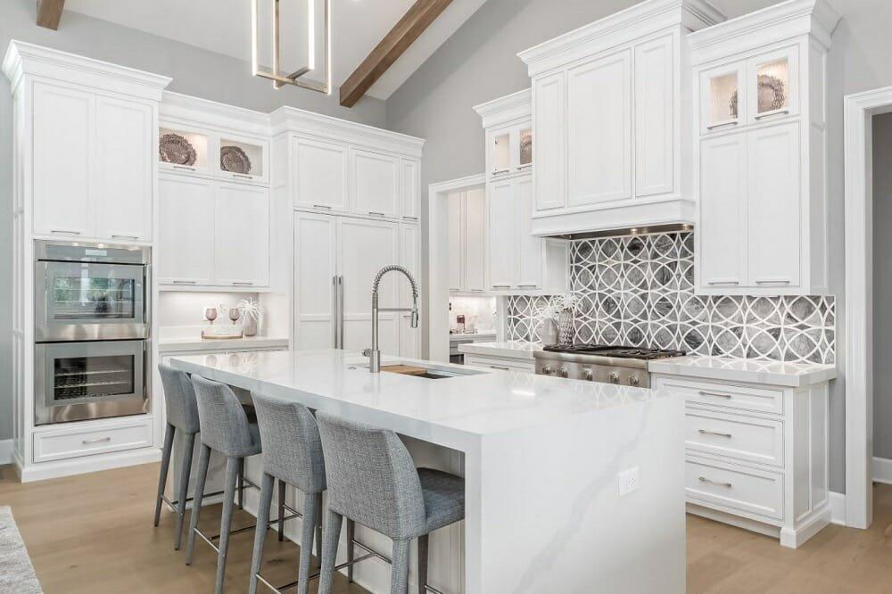 Kitchen design by Michell Columbus interior design