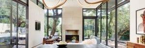 Modern living room by one pf the top San Antonio interior designers