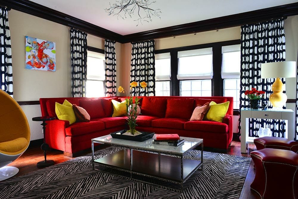 Stunning living room by one of the top San Antonio interior designers, Betsy Homan