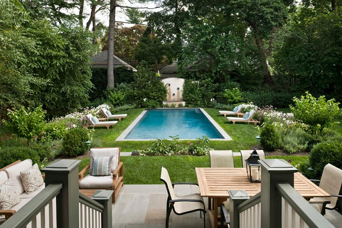 Transitional pool decor and furniture - Houzz
