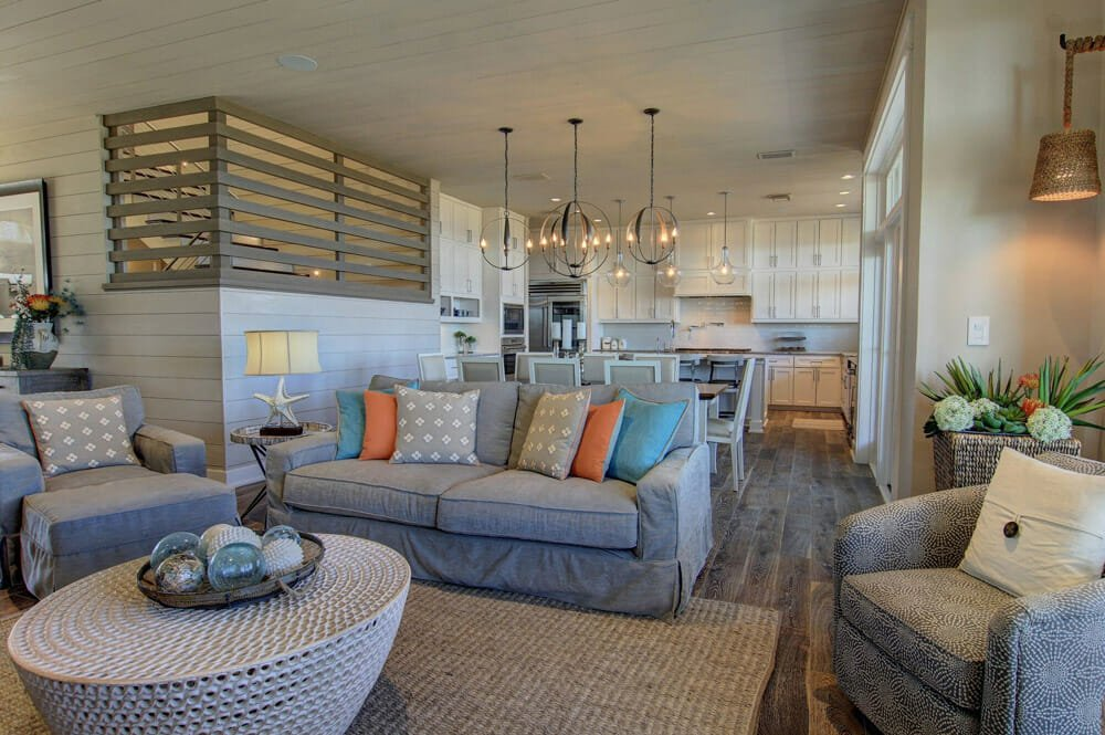 Vacation rental designed by one of the top San Antonio interior designers LK group