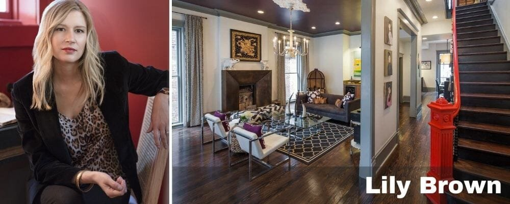 houzz interior designers savannah - lily brown