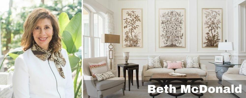 top savannah ga interior designer - beth mcdonald
